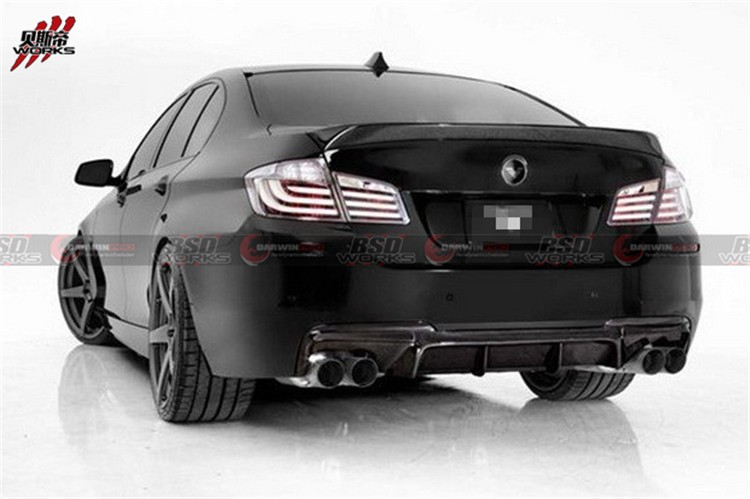 2010-2015 F10/F18 VERSTAINER STYLE REAR DIFFUSER FOR BMW 5 SERIES (FOR MT REAR BUMPER ONLY)