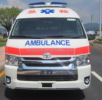 2016 Toyota hiace super double roof ICU ambulance
