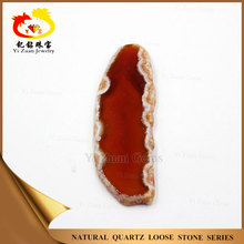 Polished Natural raws Dyed color agate onyx gemstones for pendants
