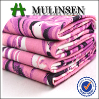 Mulinsen Textile Plain Woven Printed Stretch 40S Cotton Poplin Fabric Price