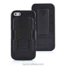 2 in 1 Armor Belt Clip Holster Combo Case Hybrid Cover for iphone 5 6 6plus