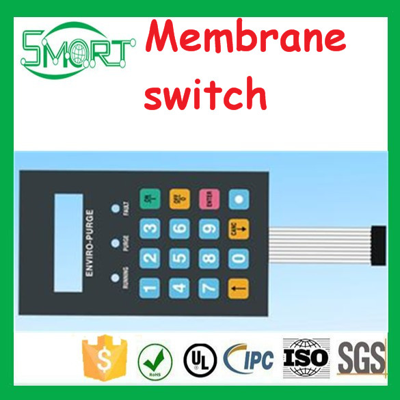 Smart Electronics touch membrane panels, rubber membrane keypad
