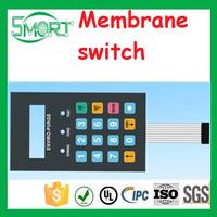 Smart Electronics touch membrane panels, rubber membrane keypad