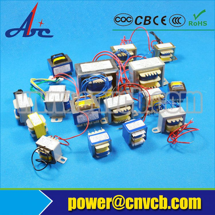 12V 24V AC step down low frequency transformer 110V 220V