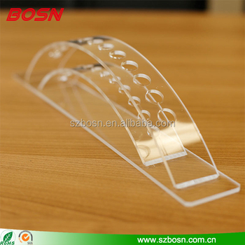 Wholesale clear desktop acrylic fancy pen display holder for detail store stand