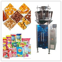 CE certification Automatic soya meat/puffy food /snack food weighing and Packaging Machine