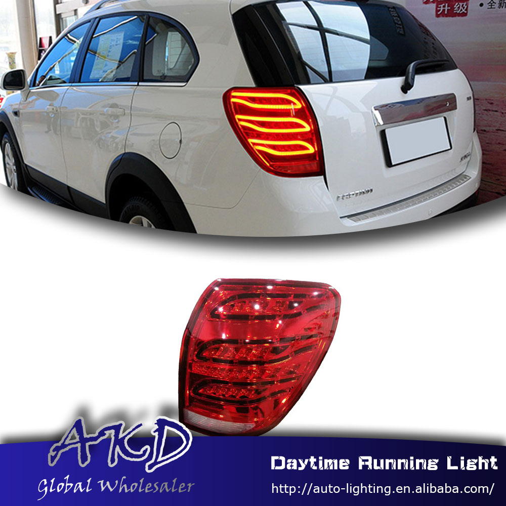 Car Styling Tail Lamp for Chevrolet Captiva Tail Lights for Captiva 08-16 LED Tail Light Rear Lamp LED DRL+Brake+Park Stop Lamp