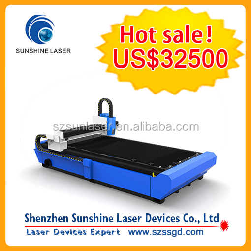 Lowest Price in China! CNC Metal Sheet 500w Fiber Laser Cutting Machine
