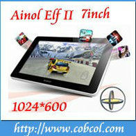 Newest 7 inch Android 4.0 Cortex A9 Amlogic 8726-M6 dual core Tablet Ainol ELF II