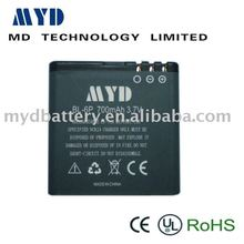HOT with high quality BL-6P mobile phone battery for NOKIA