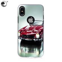 Hot sale cheap Cool car picture printing mobile phone case For iPhone X
