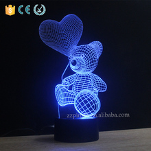 3D optical illusion led night light for BLACK FRIDAY <strong>gift</strong>