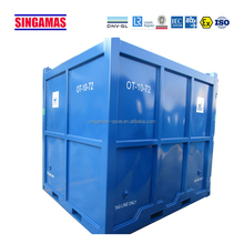 Good cheap high quality cubic blue open top container
