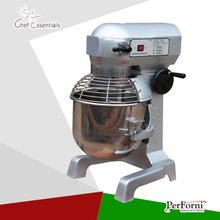 PF-QM-20B PERFORNI electric s.steel bowl spiral and planetary mixer for bakery equipment