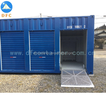 20ft Sales Side Door Open Storing Shipping Container Made in China