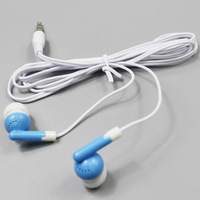 Candy Color 3.5mm jack in-Ear Earphone & Headphone with flat wire for cellphone