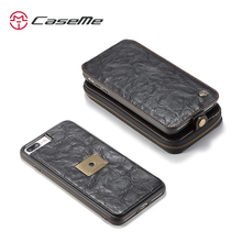 CaseMe Luxury Metal Finger Stand Case For Apple iPhone 7S Plus Simple Magnetic cover from China Supplier Bulk buy from CaseMe