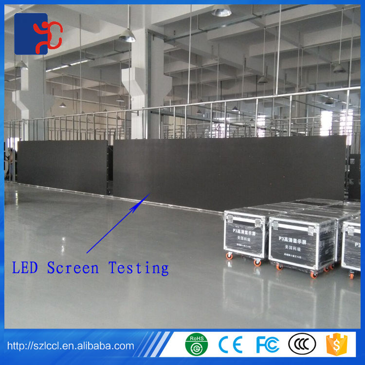 Big indoor P5 P4.81 P4 P3.91 P3 full color led display scree for rental use