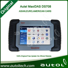 2015 Automotive Special Tool Autel Maxidas DS708 Scanner, Autel diagnostic Tool update online 100% original--Sara