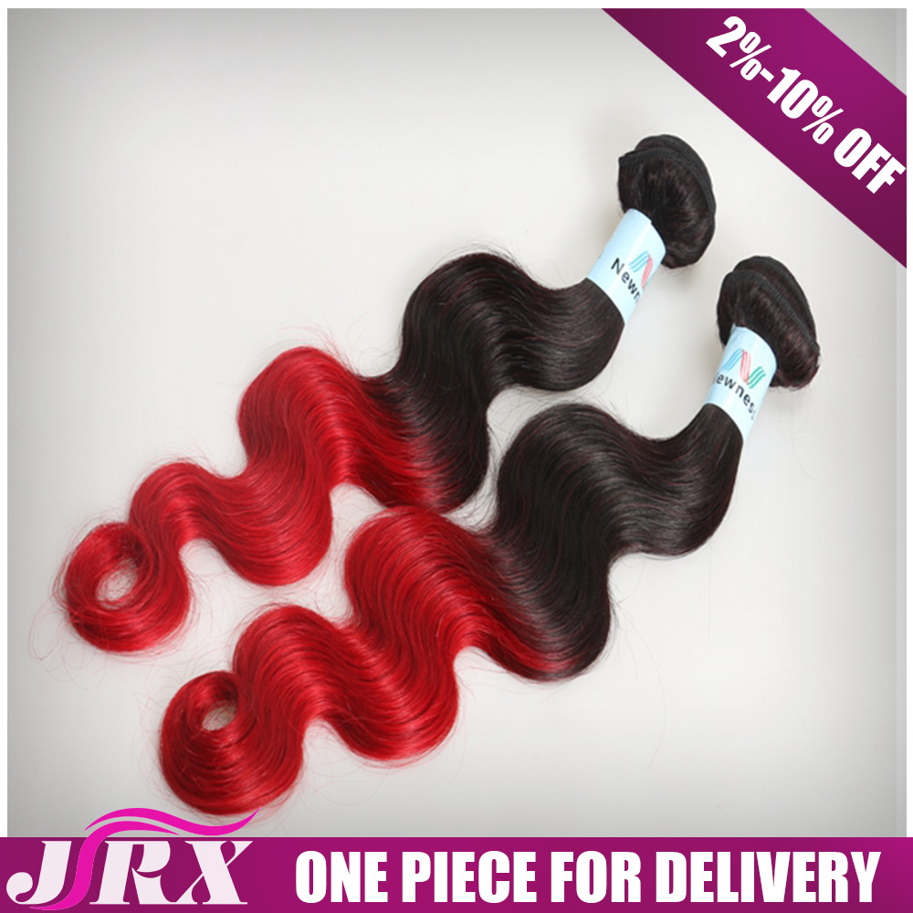 Top 10 Best Selling Highlights Colored Weave Red Human Hair Weaving For Hair