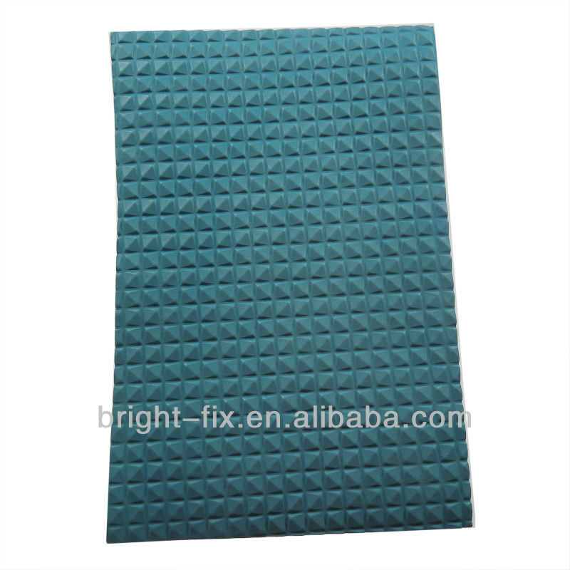 EN71-1-2-3 / ASTM F963-1-2-3/H.R.4040/CPSIA/Cadmium/Formamide safety qualified A4 Embossed Diamond Shaped EVA Craft Foam Sheet