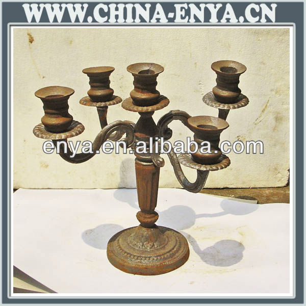 Metal Standing Candelabra for home decor