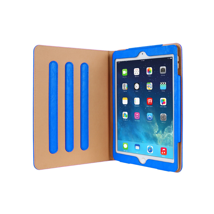 2017 New design mini cover wallet card slot case for ipad pro 9.7