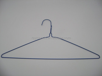 Dry Cleaning Wire Hangers With Plastic Powder Coated,Wholesale Hanger