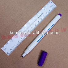 Kearing brand, violet ink 1.0mm nib non sterile skin marker, with standard ruler , disposable for cosmetic operation #SM10