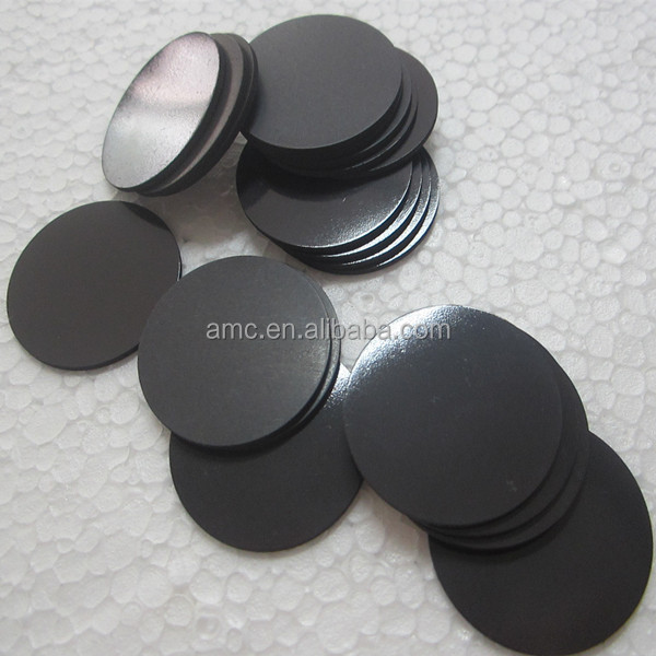 round small Plain Rubber Magnet