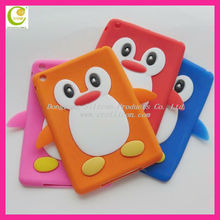 Factory wholesale new products 2013 for Ipad case silicone case for Ipad mini animal shape customized