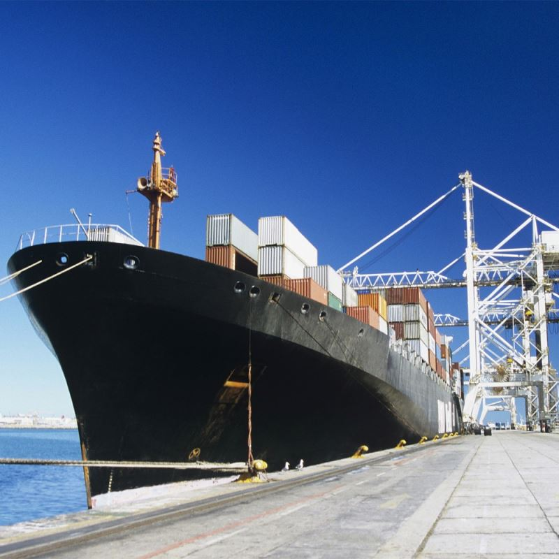 Door to door delivery services in sea freight from China to Russia