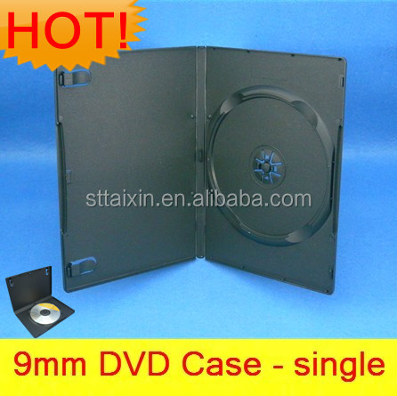 black single/double 9mm x box game dvd player case