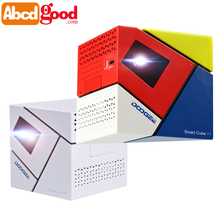 DOOGEE Smart Cube P1 Mini LED Projector with Outdoor Travel Private Theater TV BOX