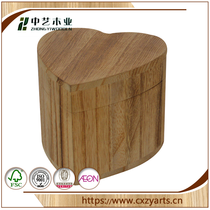 hot selling FSC&SA8000 Unfinished custom handmade cheap small wooden box for wholesale