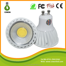 3 w 4 w 5 w gu10 mr16 regulable reflector led bombilla