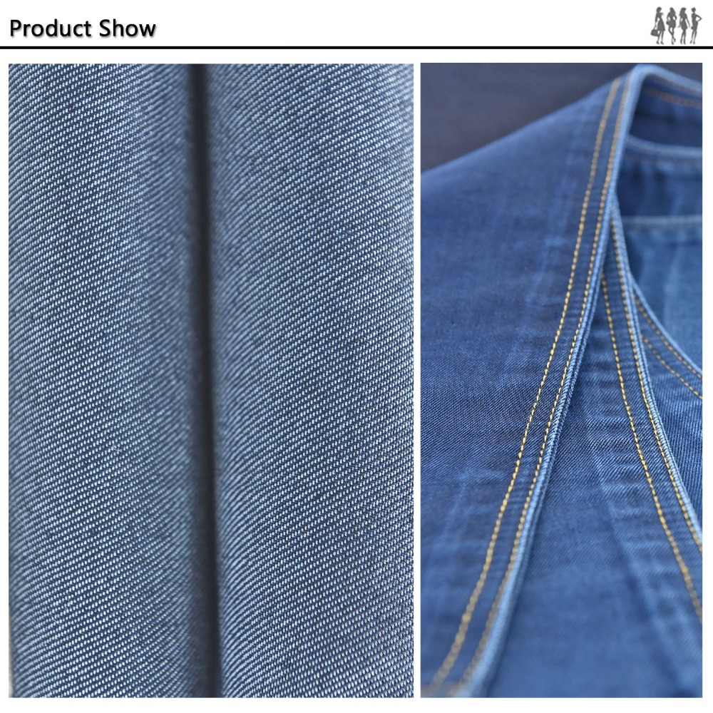 Fashion design and new thick jean fabric
