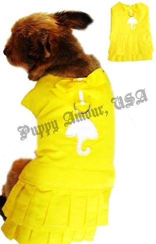 Trendy Tail dog raincoat harness