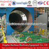QGW Steel pipe shot blasting machine Namely QGW steel pipe sand cleaning equipment