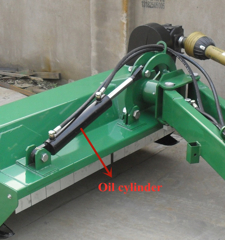Trustworthy high efficiency tractor type AGL verge flail mower