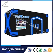 Cinema Theater Equipment 5d 6d 7d Cinema Theater With 100 English Movies For Sale