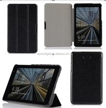 Mnufacturer Supply Ultra Slim PU Leather Flip Case For Dell Venue 8 Pro