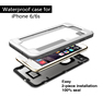 Hot new products waterproof cell phone cases, TPU+PC mobile phone waterproof bag for promotional gift