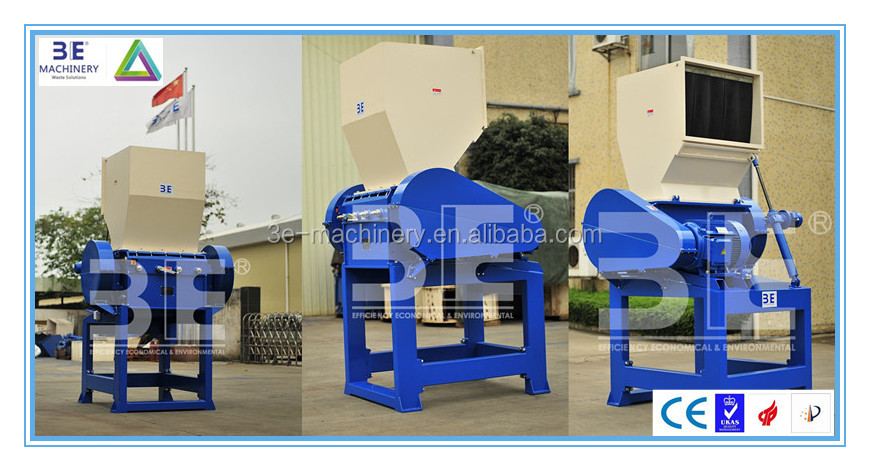 3E's Household plastic crusher used in plastic recycling, tire recycling & etc.