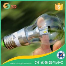 Shangda E27 High Power Led Mini Light Bulb Cover Clear Frosted Milky Lamp