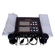 Dual system ion cleanse foot bath detox machine/reflexology foot detox spa