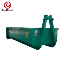 Waster collection roll on roll off hook lift container hooklift bin