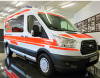 Ambulance on Ford Transit Trend 350L, Conversion acc. EN1789