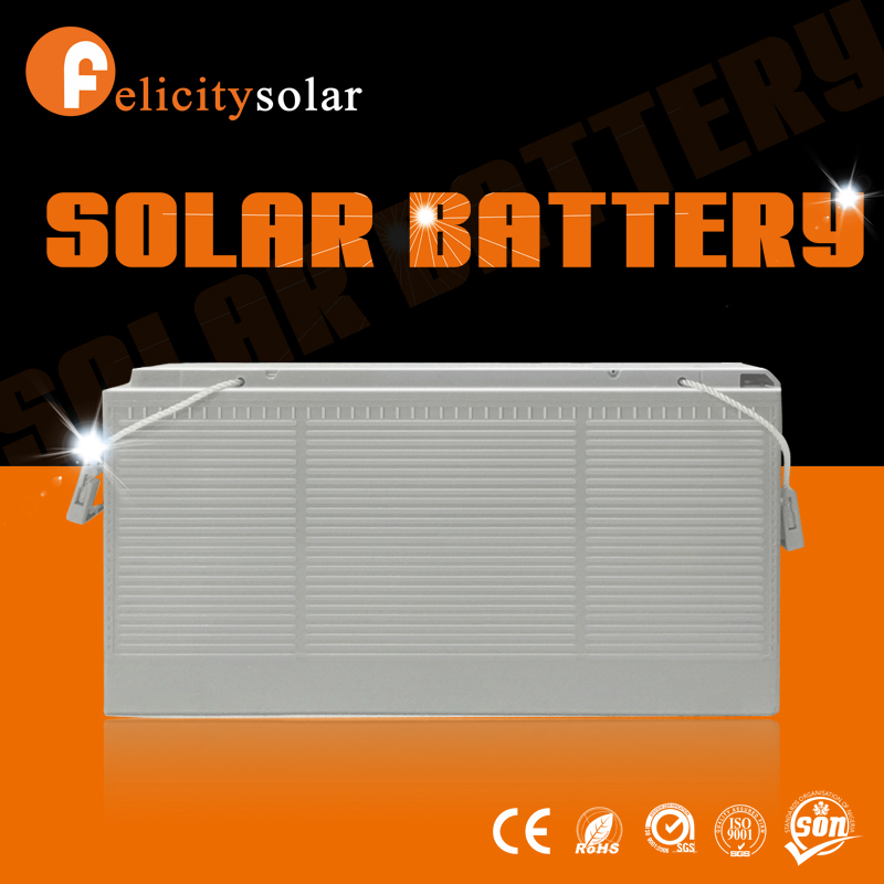Felicity solar First Class Europe type solar battery charger 12v 150ah solar power battery