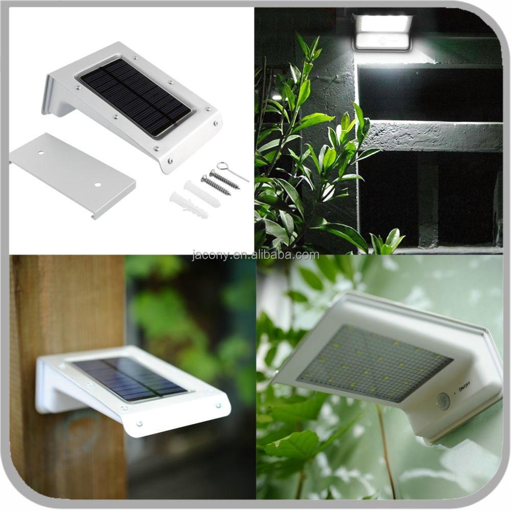 solar outdoor lights motion sensor lamp garden 20led jl. Black Bedroom Furniture Sets. Home Design Ideas